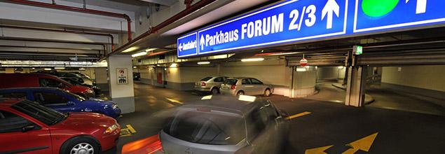 Parkhaus Forum Erfurt